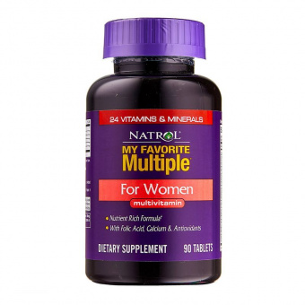 My Favorite Multiple for Women Natrol 90 капсул