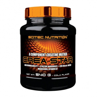 Crea Star Scitec Nutrition 540 грамм