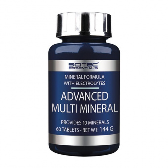 Advanced Multi Mineral Scitec Nutrition 60 таблеток