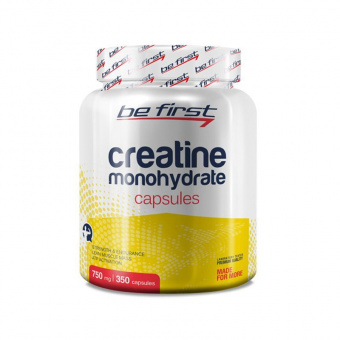 Creatine Monohydrate Capsules Be First 350 капсул