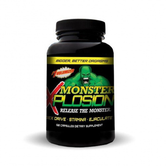 Monster Xplosion Goliath Labs 60 капсул