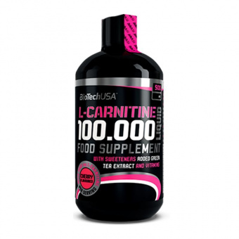 L-Carnitine Liquid 100000 Biotech USA 500 мл